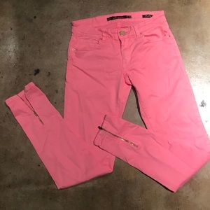 Zara Pink Slim Fit Pants 2